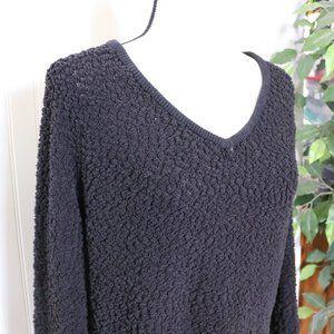 Sonoma Popcorn Knit Teddy Bear Sweater Lg